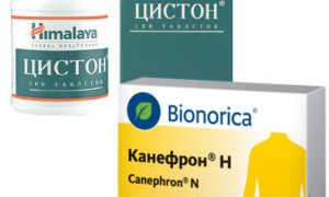 Что лучше при заболеваниях мочевыделительной системы: Канефрон или Цистон
