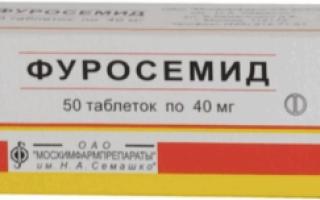 Как применять Фуросемид при терапии цистита