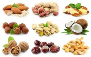 Какие орехи полезны для мужской потенции?