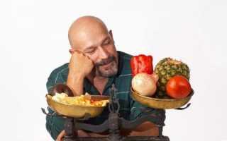 Правила питания при простатите у мужчин